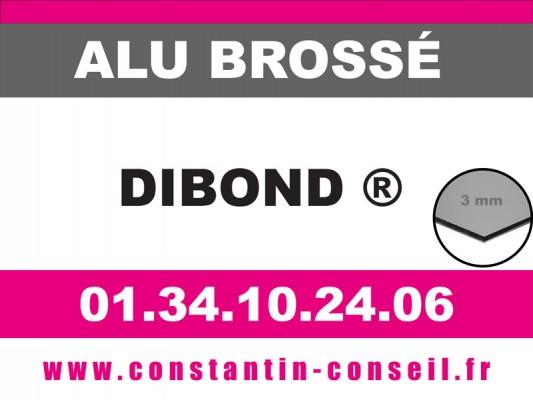 Dibond Alu brossé