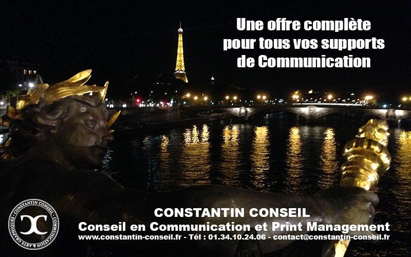Constantin Conseil Communication Print